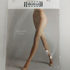 Wolford Naked 8 Tights Extra Small Cosmetic